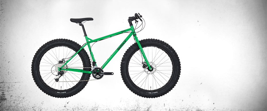 Pugsley Bike Grassy Green