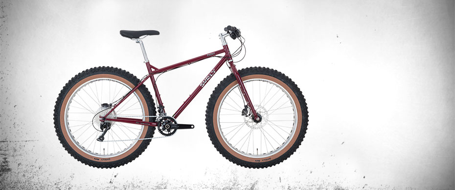 Surly Pugsley Ops Fat Bike - Magma - right side view