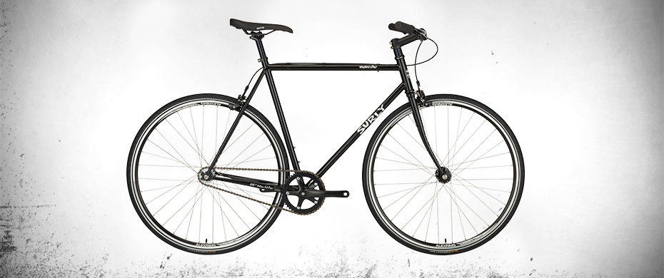 Surly Steamroller Bike - Black - right side view