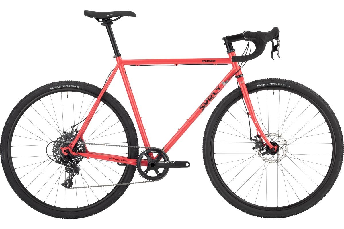 Straggler Bike 700c - Salmon Candy Red