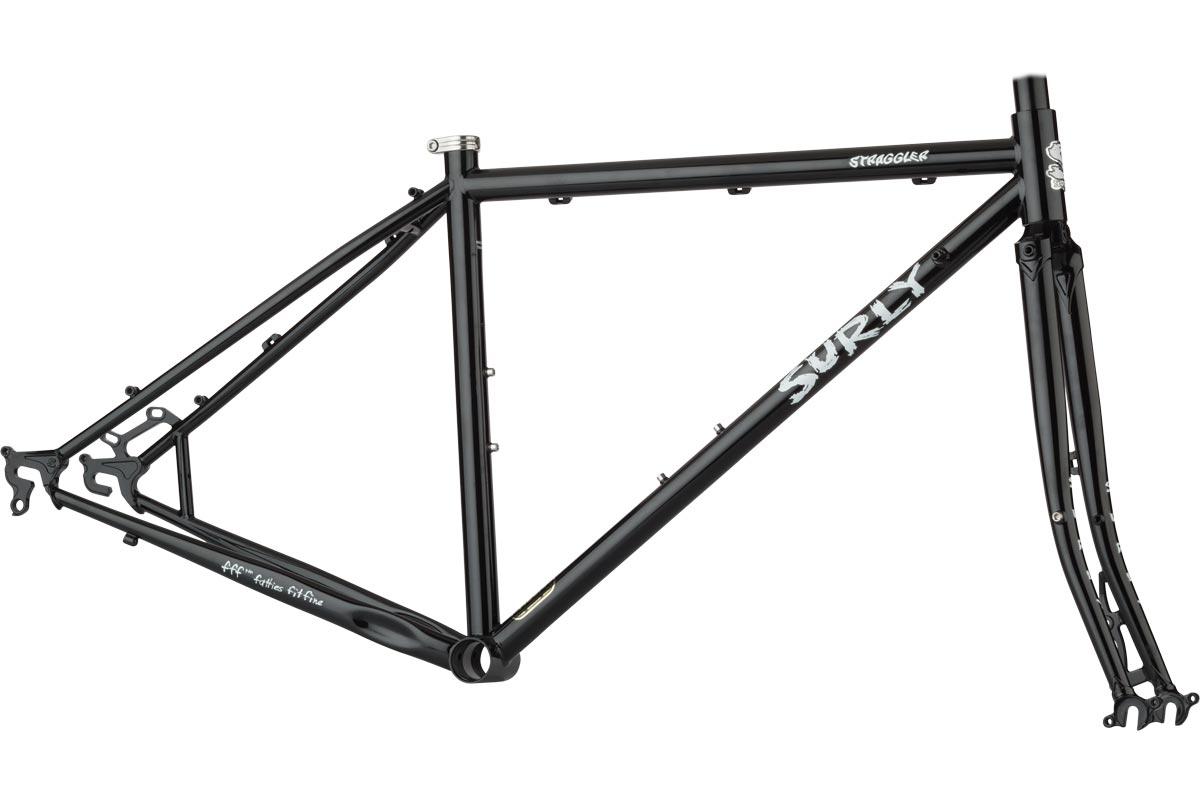 Straggler Frameset 700c - Gloss Black