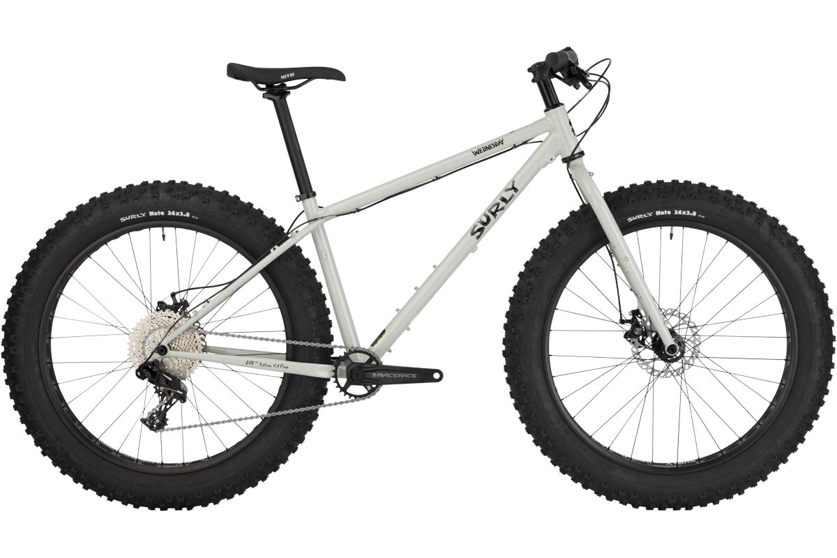 Surly Wednesday - Complete Bike - Gray Sweatpants