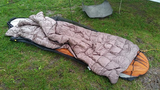 50 Degree Sleeping Bag