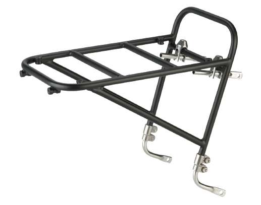 Surly 8-Pack Rack - black - left side angled view - white background