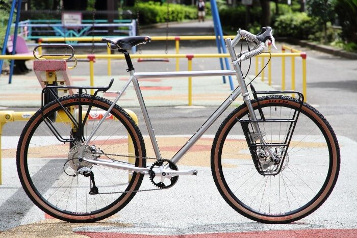 Surly Disc Trucker in silver