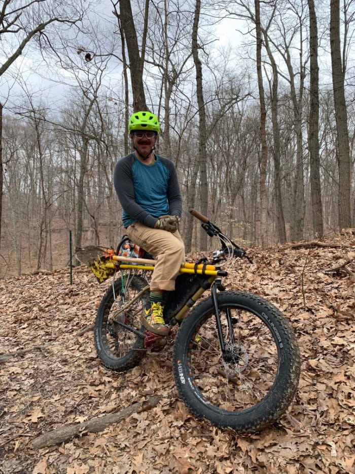 Aaron in trail builder mode