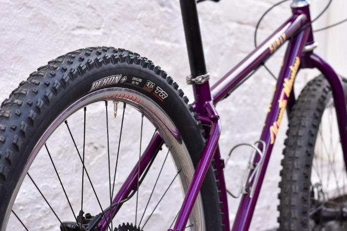 Karate Jumper Tire and Seat Stay