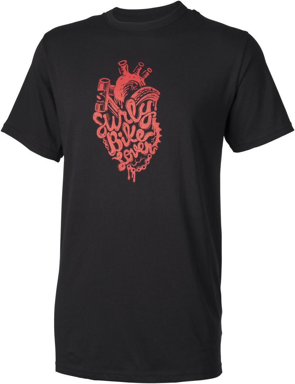 Surly Bike Lover men's t-shirt - black - Front view