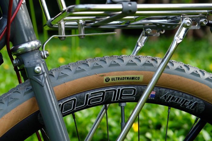 closeup of straggler bike rack