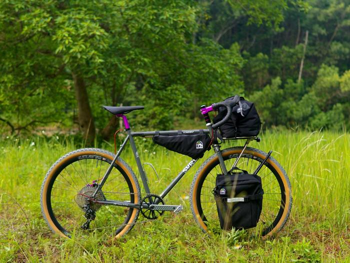 Surly Straggler in a field