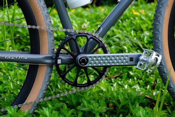 close up of Straggler Bike