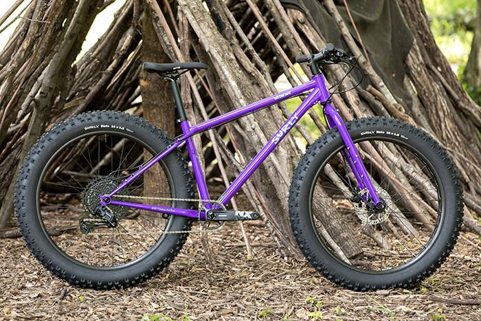 Surly Wednesday Fat Tire Bike in purple