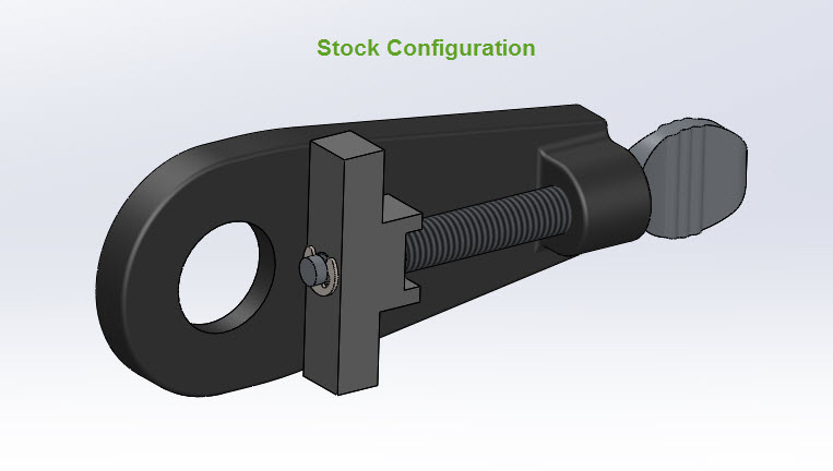 CAD Illustration of a Surly Snuggnut - In stock configuration