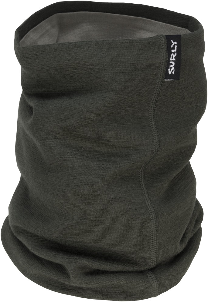 Surly Neck Gaiter - Olive Drab - Front view