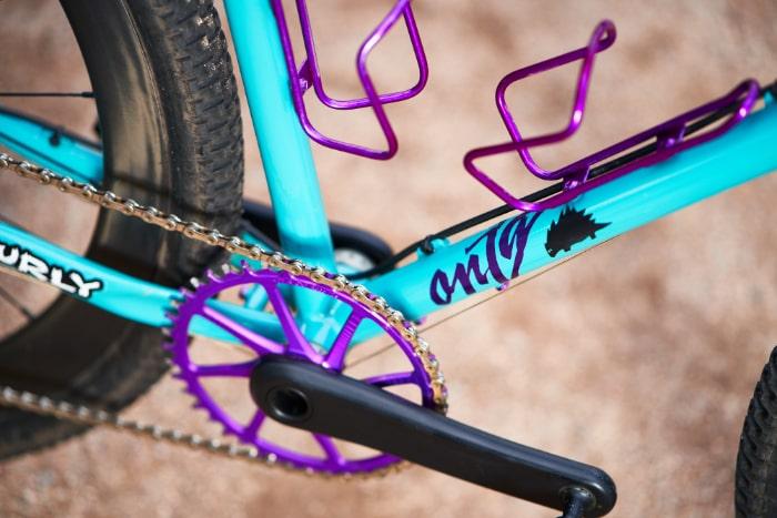Purple Bike Chainring