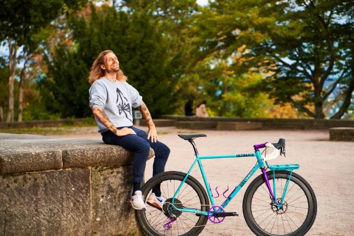 Graveljesus with his Bike