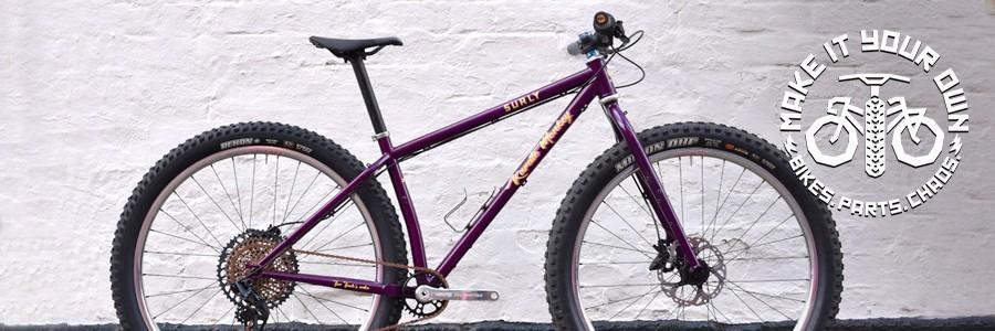 Side Profile Shot of purple Karate Monkey