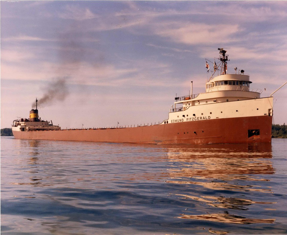 Image result for the edmund fitzgerald sinks