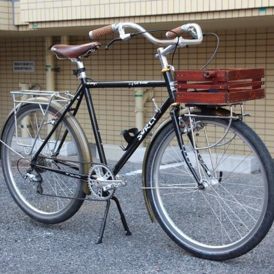 Long Haul Trucker with Front Basket