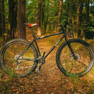 Pugsley on Trail