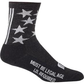 "1st Ave 5"" Wool Sock"