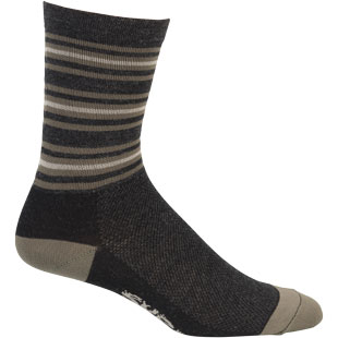 "21 Stripe 5"" Wool Sock"