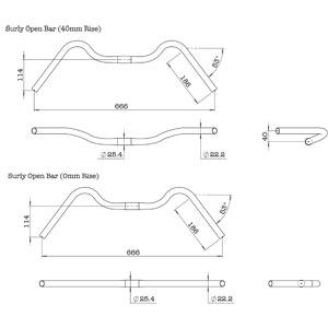 Surly Open Bar - Geometry
