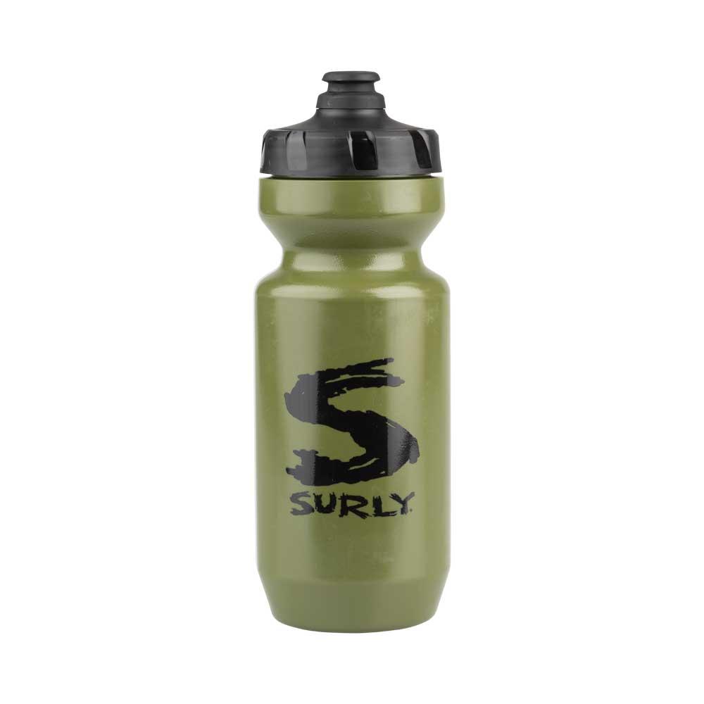 Big S Water Bottle, green, 22oz