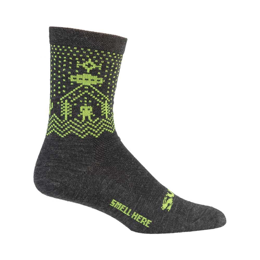 Surly Beam Me Up Socks, black
