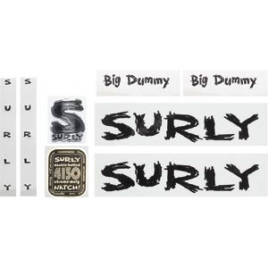 Surly Big Dummy Decal Set, Black