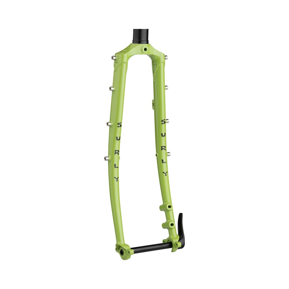 Surly Disc Trucker Fork, Pea Lime Soup