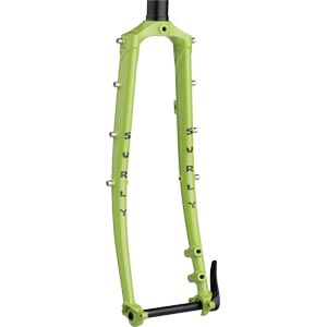 "Surly Disc Trucker Fork, 26"", Pea Lime Soup"