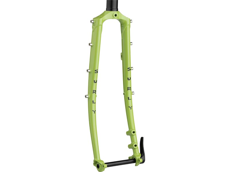 Surly Disc Trucker Fork, 700c, Pea Lime Soup
