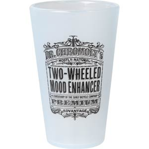 Surly Dr. Chromoly's Silicone Pint - front Glass