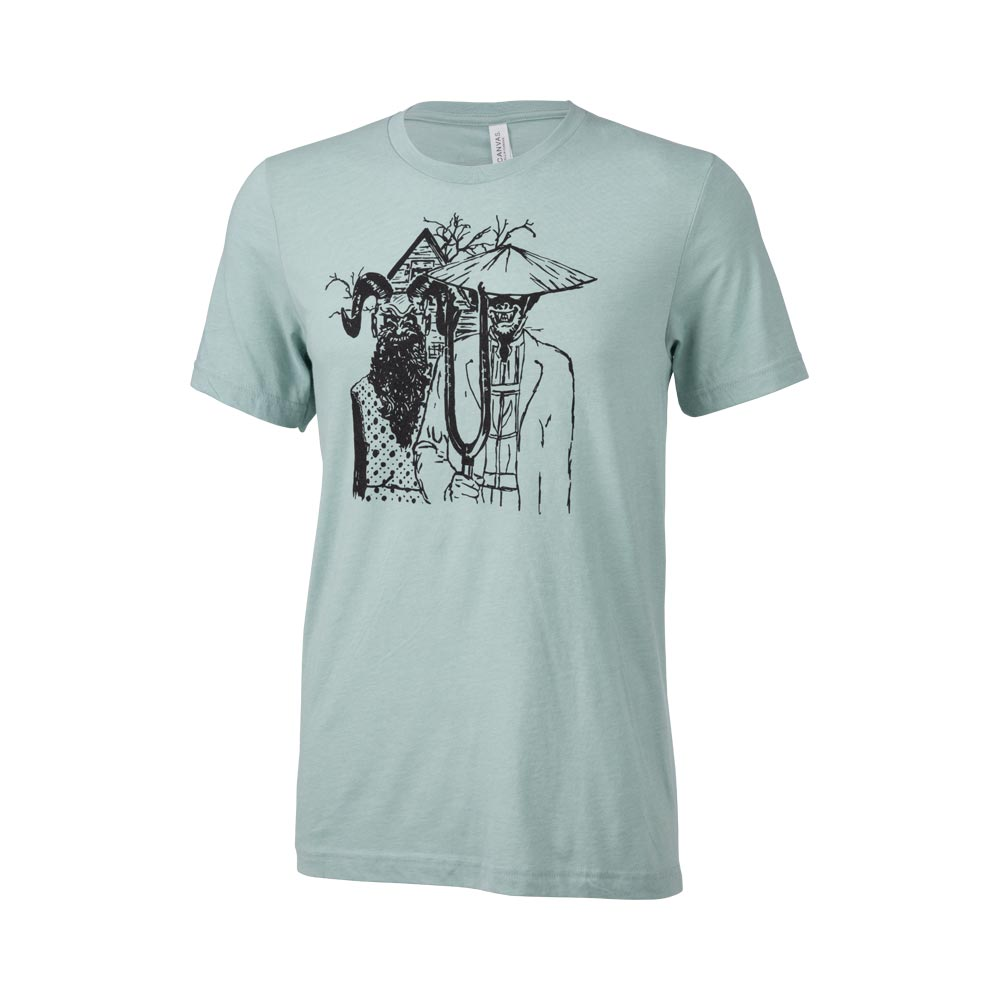 Surly Gothic T-Shirt: Dusty Blue