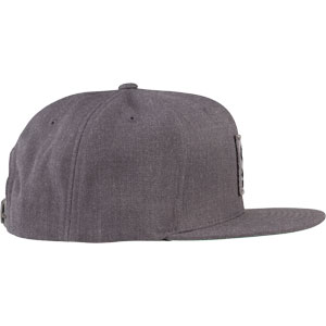 Surly Gray Area Snap Back Hat - Dark Heather Gray, One Size - side view