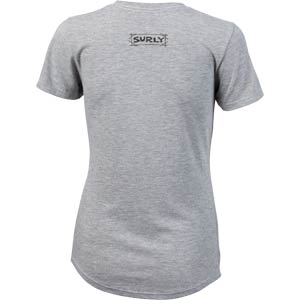 How We Roll Women's T-Shirt back, Silk, on white background