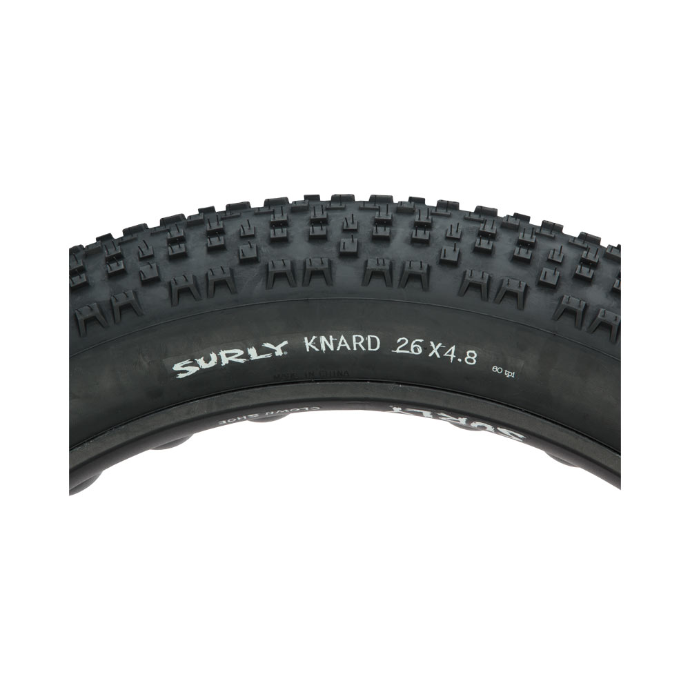Surly Knard Tire 26 x 4.8 Fat - sidewall view