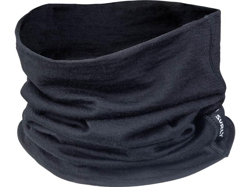 Surly Lightweight Wool Neck Toob, Black