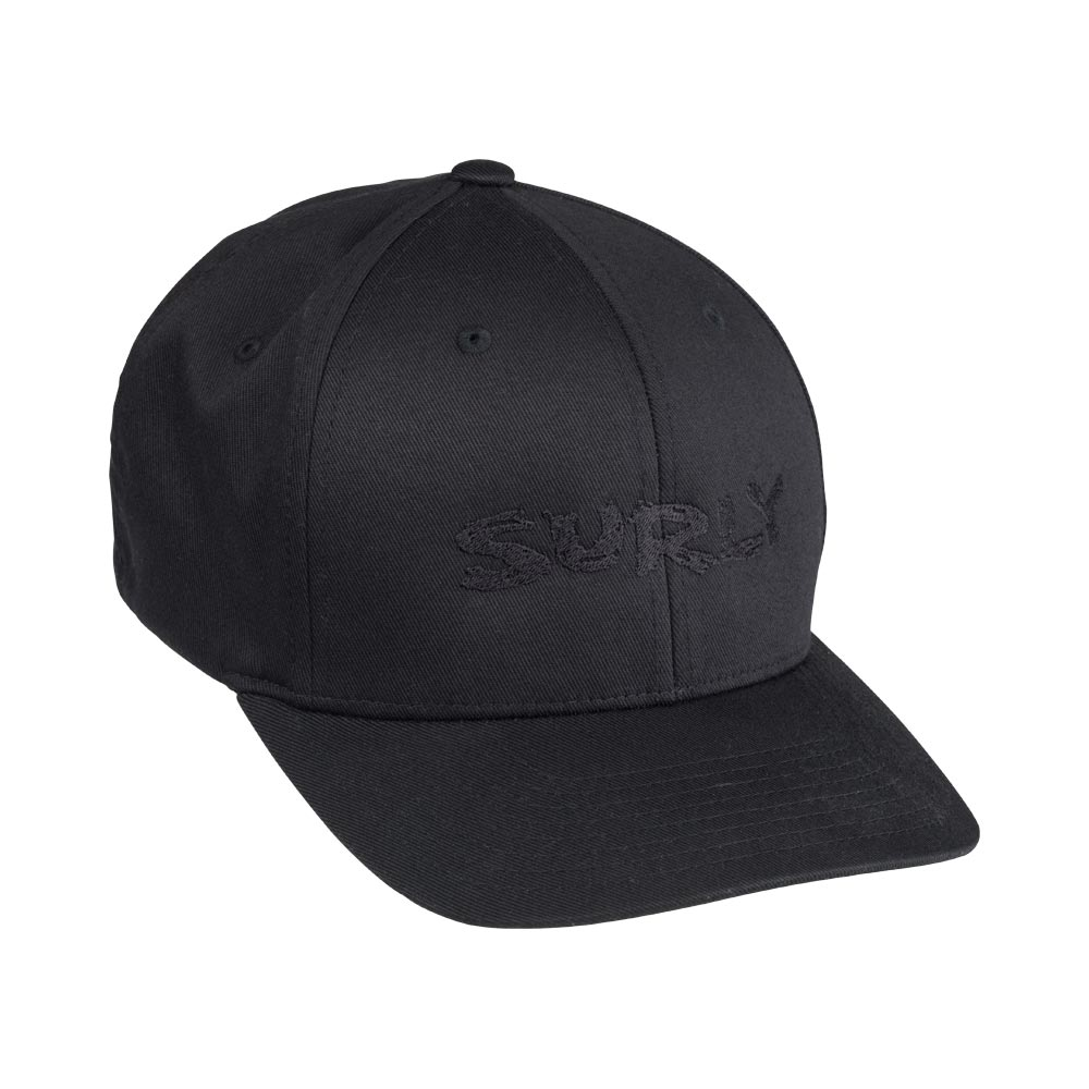 Surly Baseball Cap, Black/Black