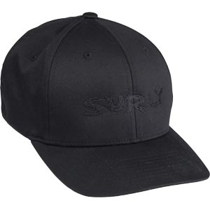 Surly Baseball Cap, Black/Black