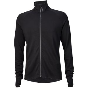 Surly Men's Merino Wool Long Sleeve Jersey, Black