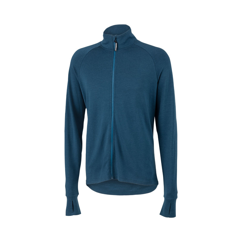 Surly Men's Merino Wool Long Sleeve Jersey, Navy