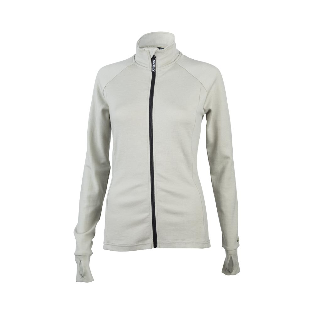 Surly Women's Merino Wool Long Sleeve Jersey, Tan