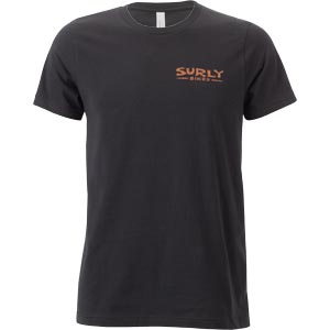 Surly Space Station Men's Tee, Black