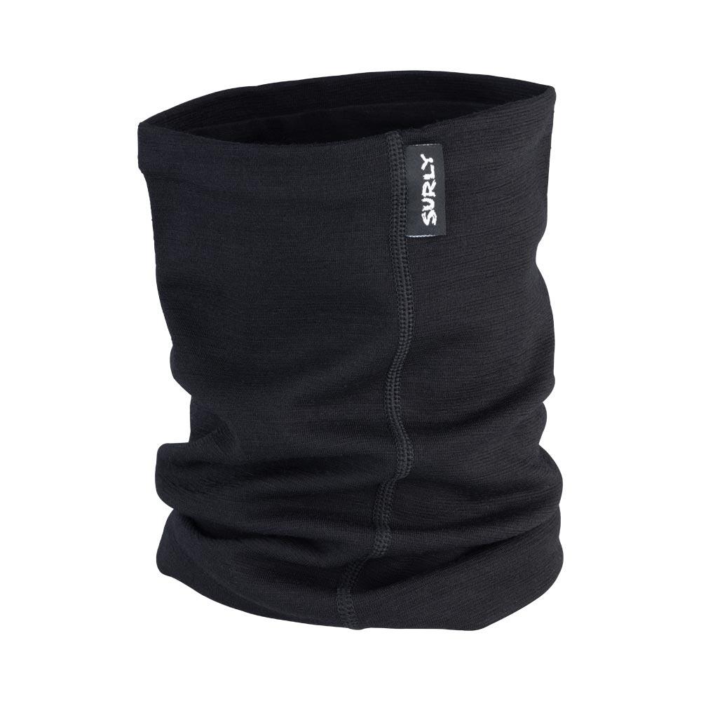 Surly Merino Neck Gaiter: Black One Size