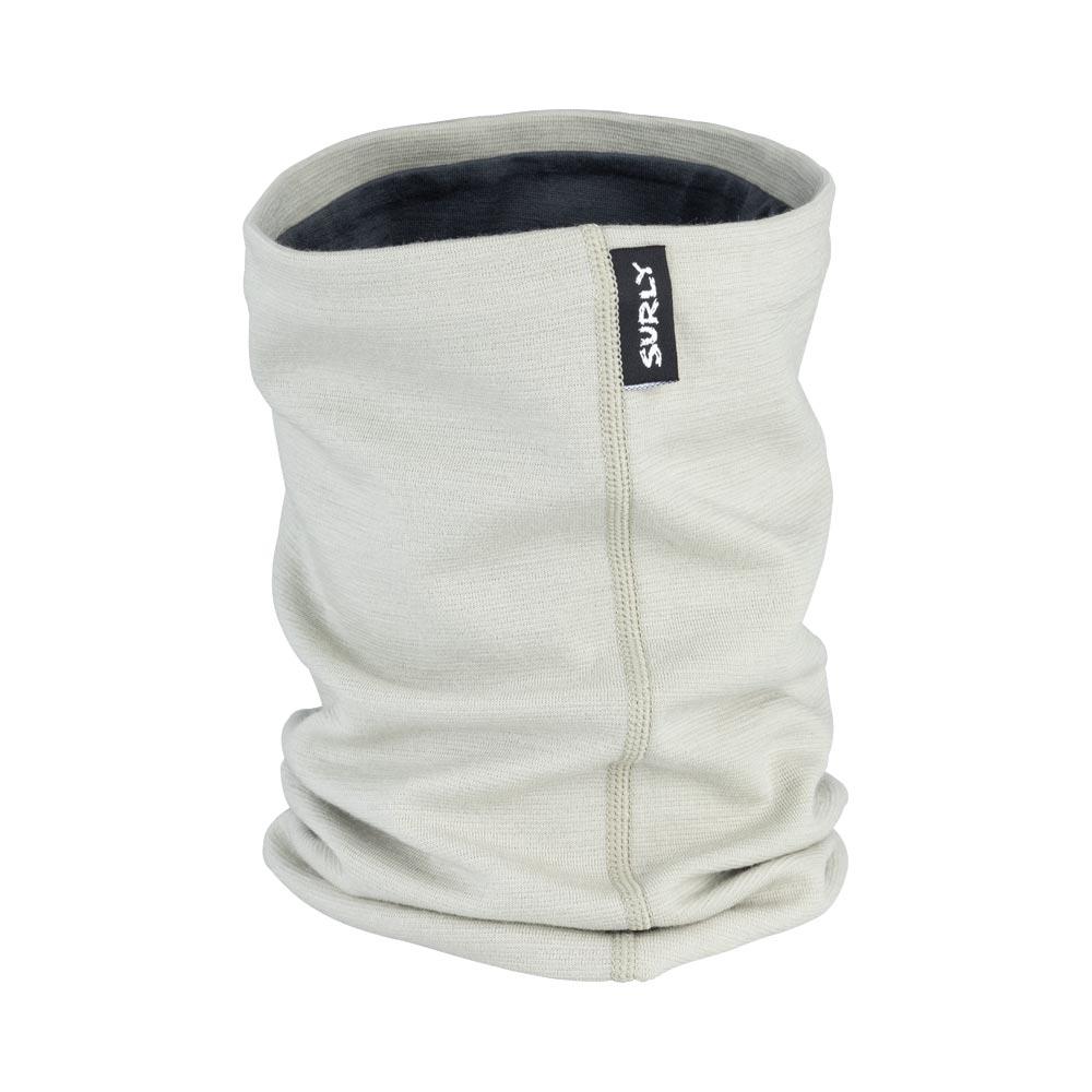 Surly Merino Neck Gaiter: Tan/Gray One Size