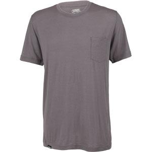 Surly Merino Pocket T-Shirt: Gray