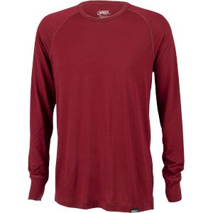 Surly Raglan Shirt: Cabernet