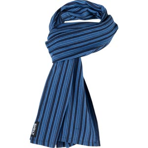 Surly Merino Wool Scarf: Blue/Navy Stripe, One Size